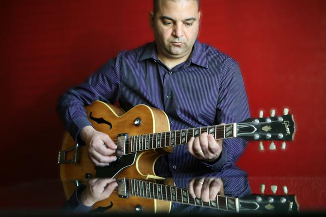 Chris Shahin, guitarist